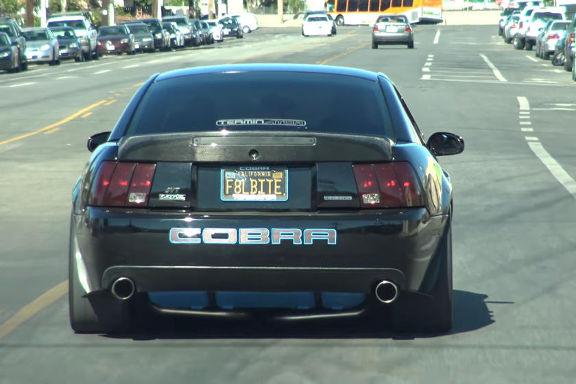 How Much Hp Does A Cobra Terminator Have