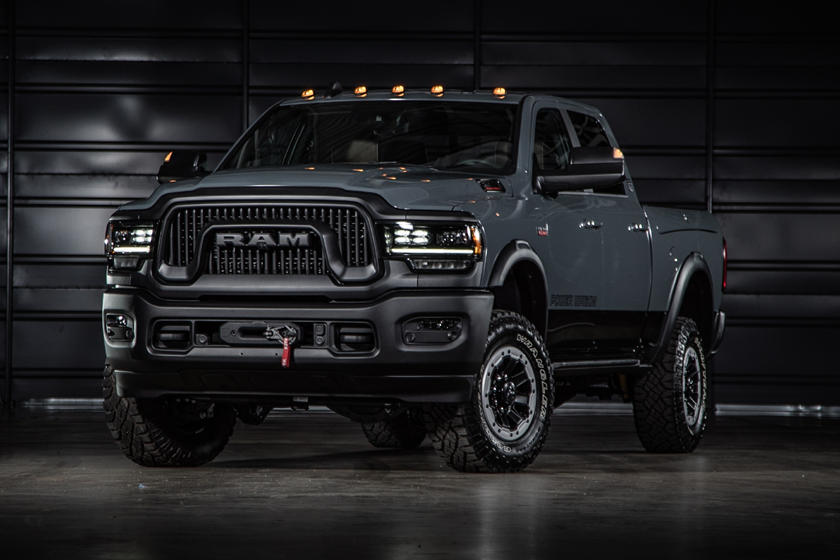 2021 ram 2500 power wagon comes in 3 different flavors