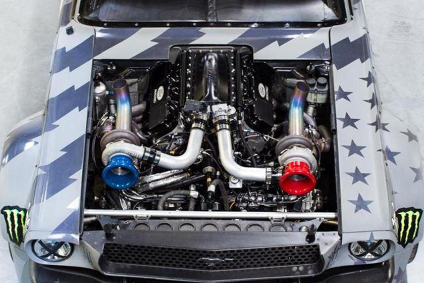 Hoonigan Mustang Vs Tesla
