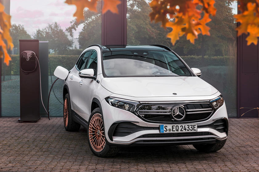 This Is The All-New Mercedes-Benz EQA
