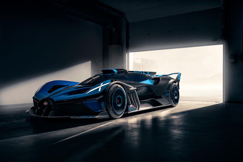 Bugatti Bolide Voted Most Beautiful Hypercar Of The Year Carbuzz
