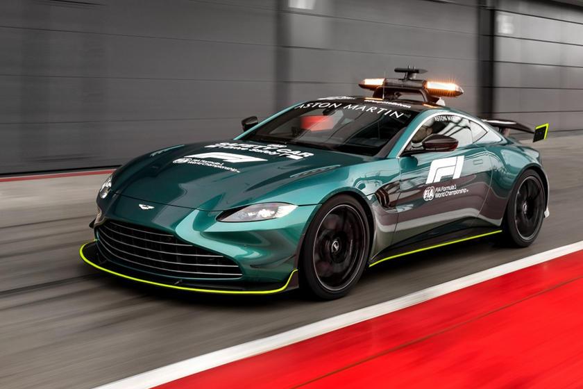 Aston Martin Vantage Named Official F1 Safety Car Carbuzz