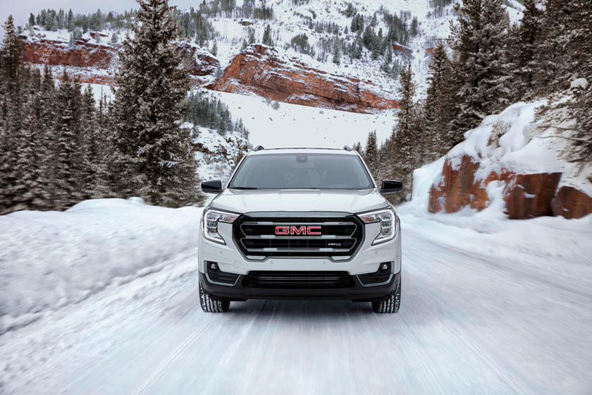 2022 gmc terrain gets rugged at4 trim but loses an engine