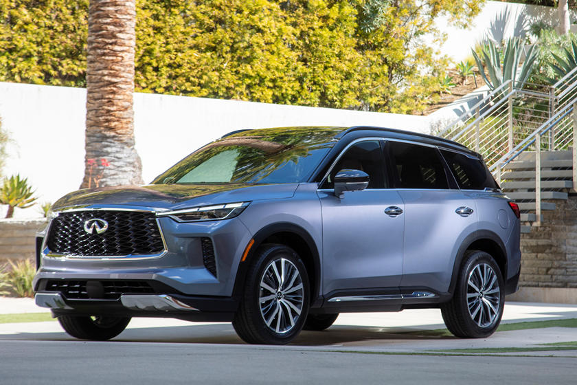 2022 Infiniti QX60 Is A Plusher, Smarter Three-Row Crossover