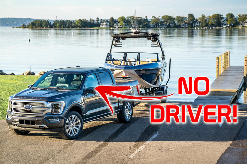 Ford Develops Autonomous Trailer Hitching For Future F-150s