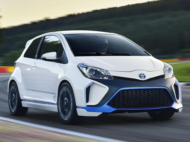 Toyota Yaris with 400hp? Meet the Hybrid-R   CarBuzz