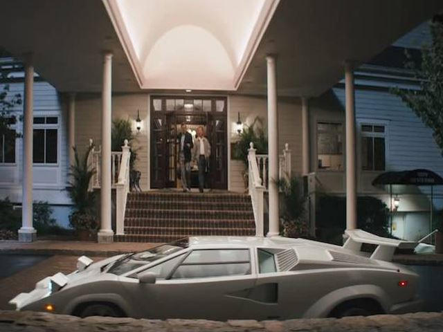 Lamborghini Countach Wrecked In The Wolf Of Wall Street Carbuzz