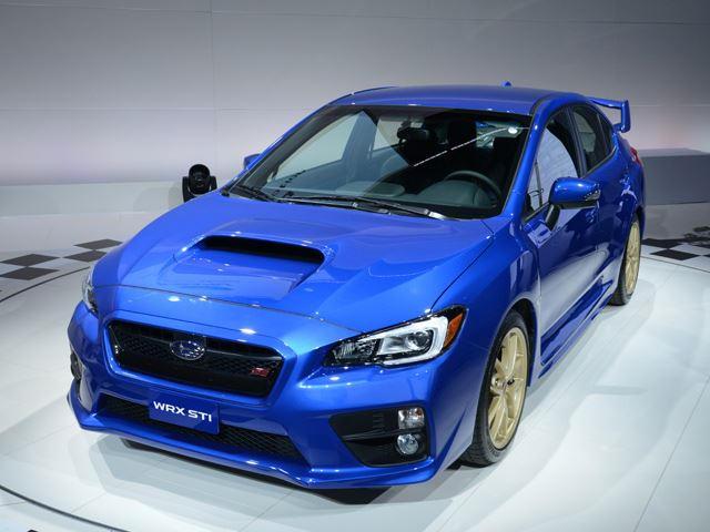 Are All Subaru'S Awd >> 2015 Subaru Wrx Sti Is Awd Awesomeness Carbuzz