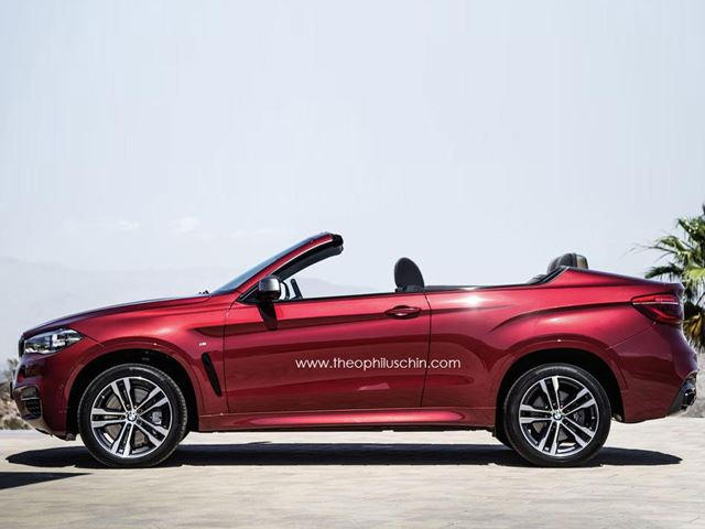 Bmw X6 Looks Better As A Cabrio Carbuzz