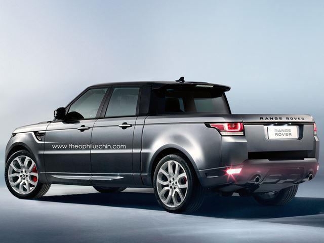 Range Rover Truck >> This Range Rover Sport Truck Is Onto Something Carbuzz