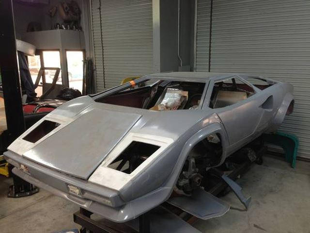 Corvette V8 Powered Countach Replica Can Be Yours Carbuzz