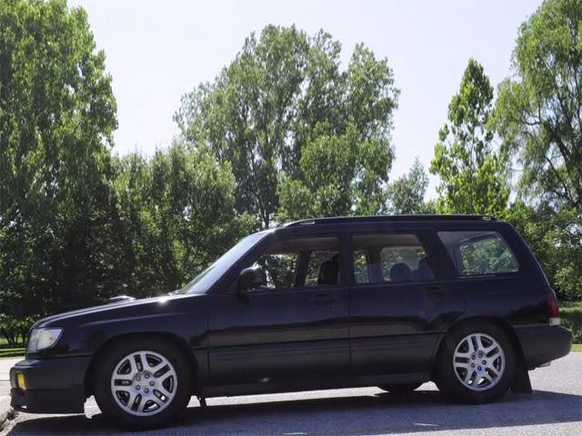 Engine Swap Makes This 1998 Subaru Forester Cool   CarBuzz