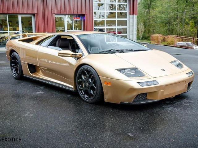 Ultra Rare Lamborghini Diablo Vt 6 0 Se Coated In Oro Elios On Offer