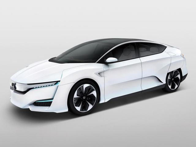 Honda FCV Concept is a Hydrogen Fuel Cell Vehicle That Will