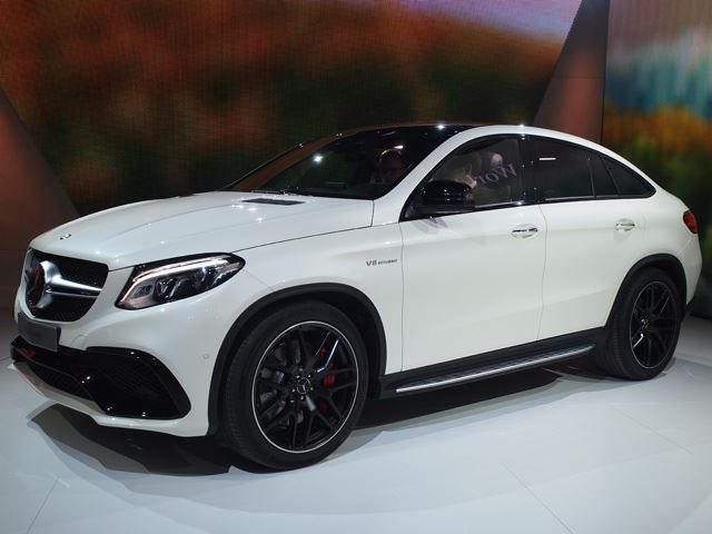 Mercedes-AMG GLE63 S Coupe Roars Into Detroit With 577