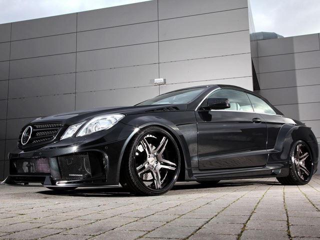 Mercedes E-Class Coupe And Convertible Receive Menacing