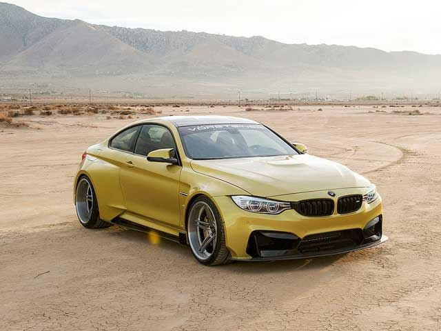 Vorsteiner Gives Us A Good Luck At It's Crazy BMW M4