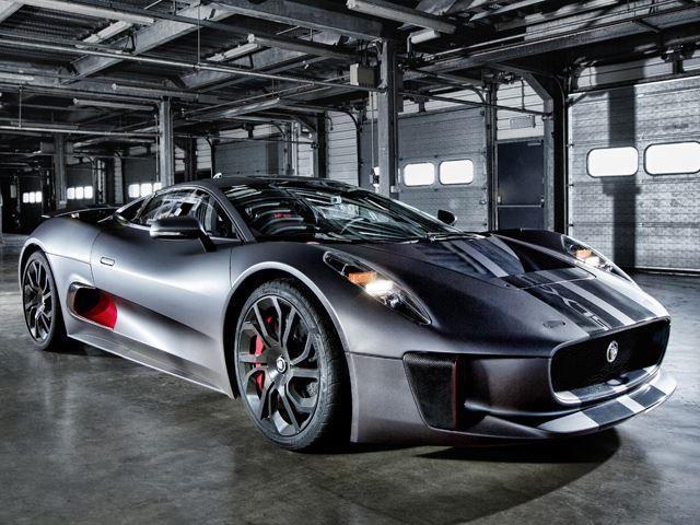 Jaguar C X75 And Aston Martin Db10 Duke It Out Filming Spectre Carbuzz