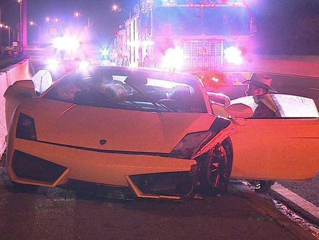 If You Crashed A 250 000 Lamborghini Gallardo Rental Car Would You