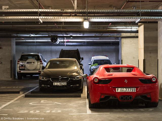 Step Inside A Dubai Parking Garage And This Is What You\u0027ll