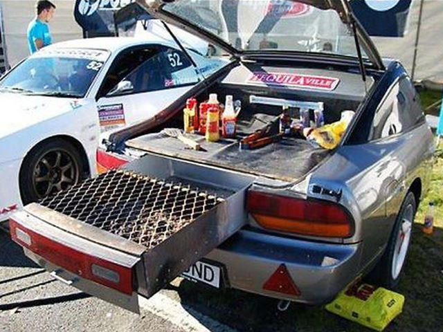 Turning An Old Car Into A Grill Is The Gearhead's Ultimate