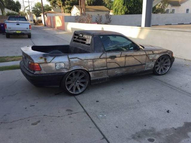 One Of The Ugliest BMW Utes We've Ever Seen Has Just Hit Craigslist