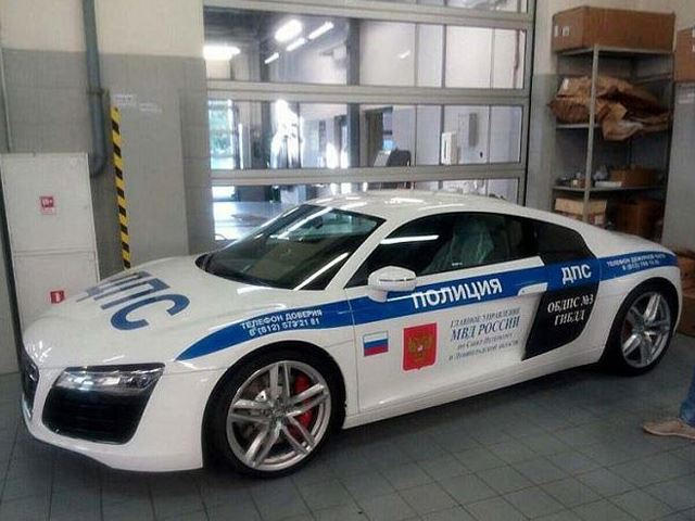 Russian Police Now Have A Supercar Cop Car Carbuzz