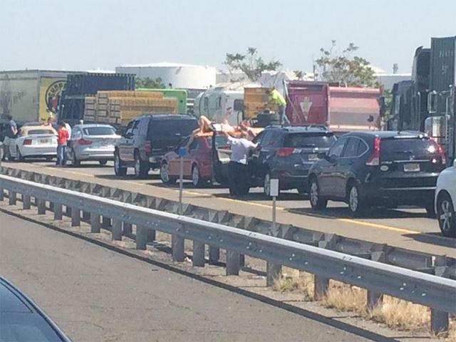 A Deadly Dump Truck Crash Shut Down The New Jersey Turnpike