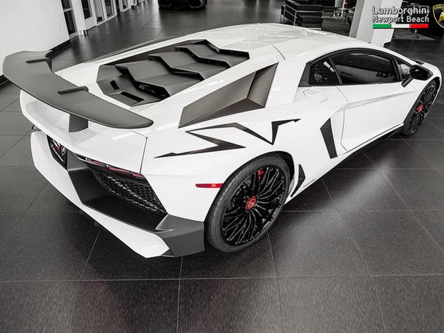 Another Gorgeous Lamborghini Aventador Sv Has Popped Up For Sale In