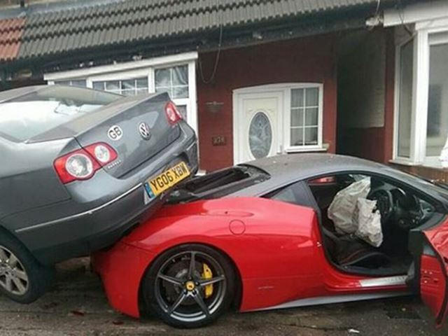 We Now Know Why This British Ferrari 458 Wanted To Be Mounted By A Vw So Badly Carbuzz