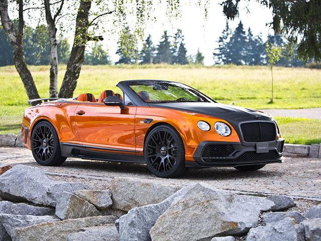 Mansory's Frankfurt Bentley Continental GTC Is A 1,000-HP