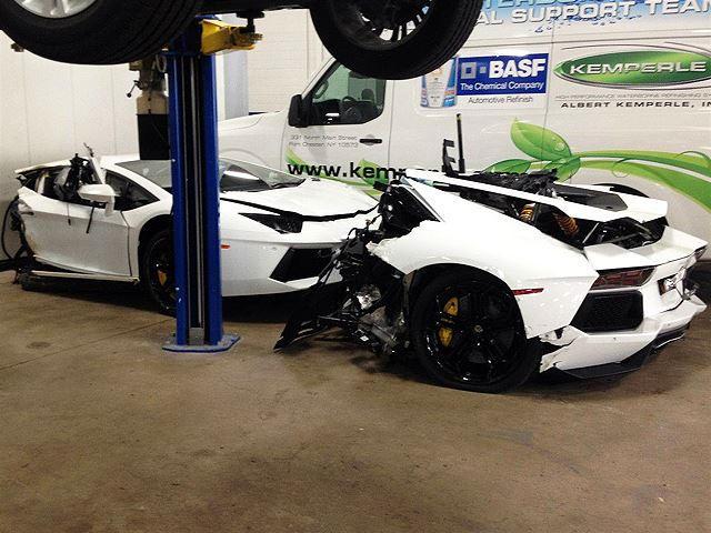 For Sale Lamborghini Aventador Slightly Used Half Price Carbuzz