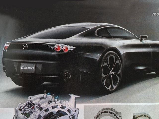 Did This Japanese Magazine Just Reveal The New Mazda RX-9