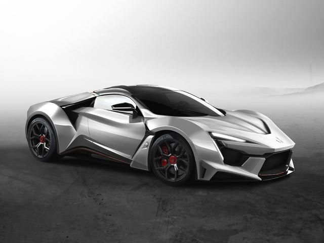 This Is The Fenyr SuperSport: The Lykan HyperSport Has A