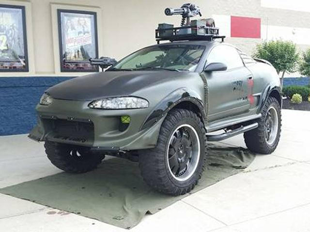 Is This Zombie-Killing Eclipse The Craziest Custom Car Ever