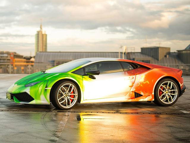 Does This Wrap Turn The Huracan Into The Best Looking