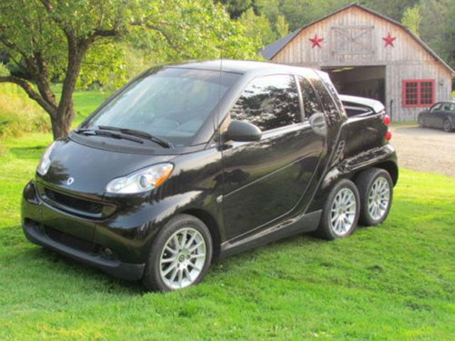 Custom Smart Car >> Is This Custom Smart Fortwo Pickup The Coolest 6x6 Around