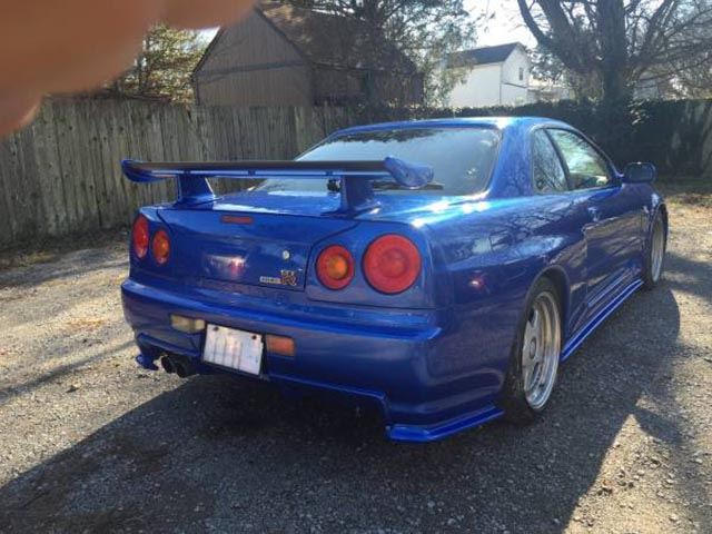 Someone Is Selling An R34 Nissan GT-R On Craigslist That's