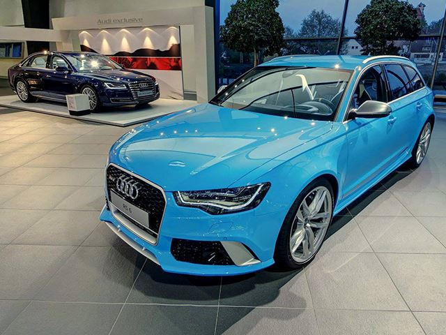 These Are The 5 Coolest Paint Colors Audi Has Ever Offered