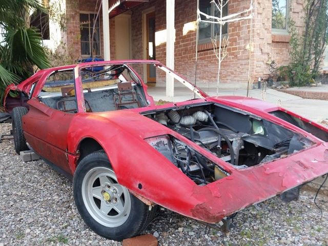 You Ve Got To Be Semi Mental To Buy This Toasted And Smashed 1985 Ferrari 308 Gts Qv Carbuzz