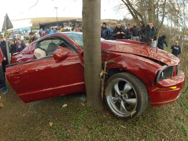 Why Do Mustangs Always Seem To Crash At Cars & Coffee Events