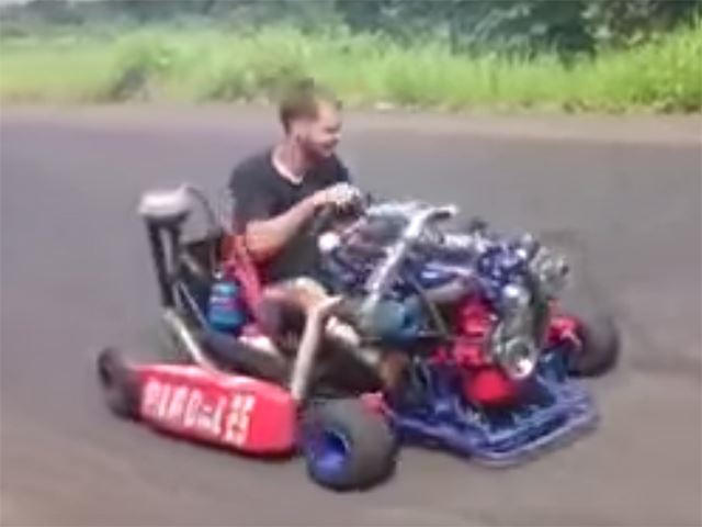 Turbocharged Go-Karts Are Awesome If They Don't Kill You