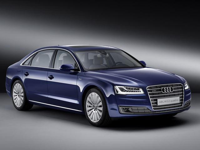 Audi A8 W12 >> The A8 W12 Is The Most Expensive Audi Option Money Can Buy