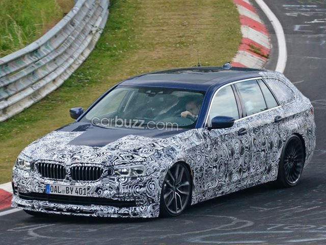 Build A BMW >> We Found The M5 Wagon Bmw Refuses To Build Testing At The