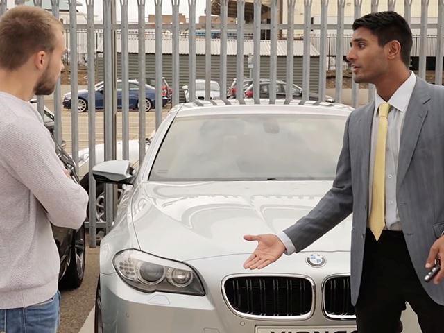 Bahrainpavilion2015 Guide Car Salesman
