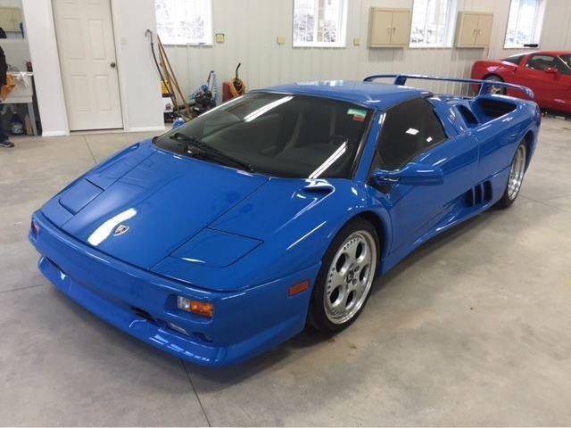 Trump S Ex Lamborghini Diablo Vt Roadster Is Appreciating In Value