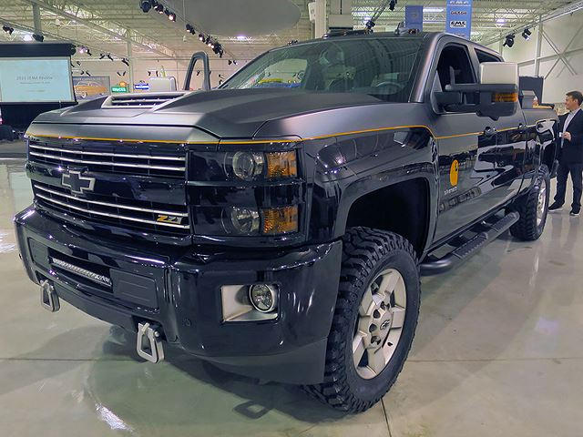 Chevy Carhartt Edition >> Carhartt Tricks Out Chevrolet Silverado For Sema Carbuzz