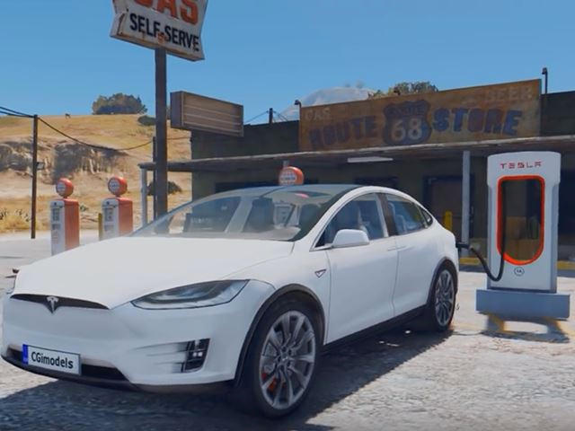 The Tesla Model X Is Now Available As GTA V's Best Getaway Vehicle