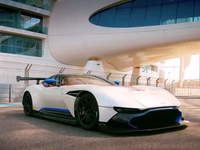 Chris Harris Hoons The 800 Hp Aston Martin Vulcan For Top Gear Cameras Carbuzz