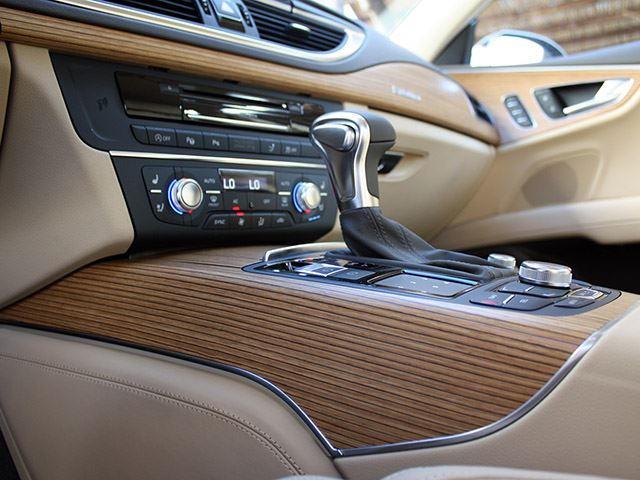 Luxury Car Interior Wood